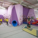 Kids Zone bouldering structure