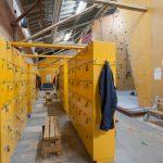 Rental locker area